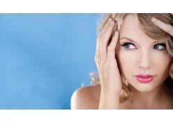 人,泰勒斯威夫特,名人,金发,妇女,面对,歌手68169