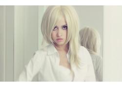 人,金发,妇女,模型30540