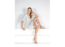 人,安娜Tokarska,金发,妇女,腿,赤脚,脚41200