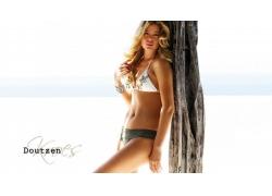 人,杜晨克罗斯,比基尼泳装,金发,妇女,模型63991