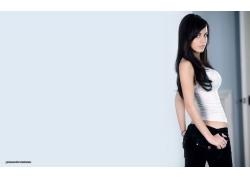 人,妇女,加布里埃拉福克斯,胸部,看着观众,长发,模型25579