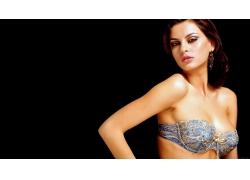 人,妇女,女用贴身内衣裤,黑发,模型,Catrinel Menghia20020