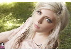 人,女孩,金发,妇女,Lawita女孩,模型28277
