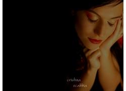 人,克里斯蒂娜Scabbia,时空飞鹰,音乐家,妇女,黑发,闭着眼睛18957