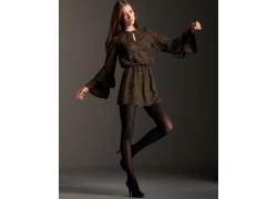 人,妇女,模型,高跟鞋,连裤袜,连衣裙39874