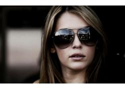 人,Keeley Hazell,戴眼镜的美女,面对,美女,模特63218