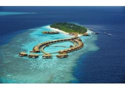 采取,海滩,岛,海,景观,环礁,热带,夏季187663