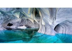 湖,洞穴,智利,侵蝕,綠松石,水,巴塔哥尼亞,景觀,大理石,島193356