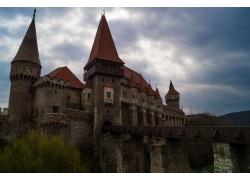 Corvin酒店,城堡,羅馬尼亞,景觀,建筑,天空,特蘭西瓦尼亞,匈雅提3