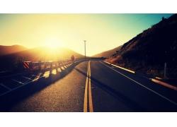 路,陽光,騎自行車的人,景觀143539