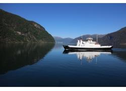 斯特蘭達,峽灣,挪威,景觀,山,渡船45330