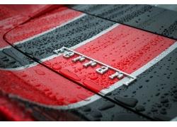 法拉利,汽车,雨409752
