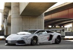 兰博基尼,兰博基尼Aventador,汽车,宽宽的身体,自由散步,LB性能,F