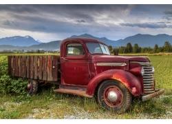 卡车,红色汽车,车辆684426