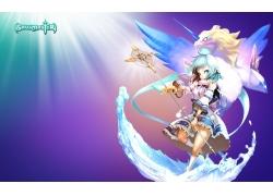 动漫,soulmaster,动漫女孩,数字艺术,幻想艺术11456