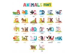 英文字母动画