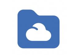 方形云朵图标