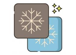 雪花和星星