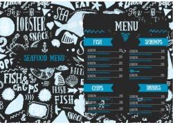 食物鱼餐厅菜单