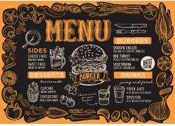 面包杯子餐厅菜单