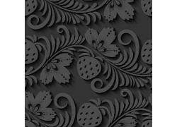 植物草莓卷纹