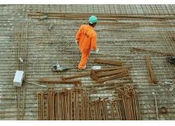 工地建筑工人