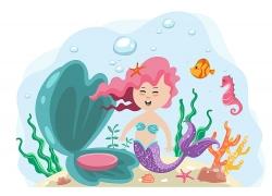 海洋里的美人鱼