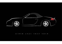 卡通汽车车辆设计