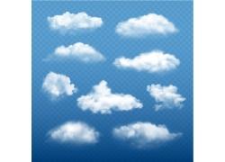 矢量云朵素材图片