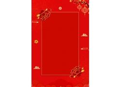 传统牡丹花剪纸模板