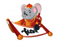 写书法的老鼠