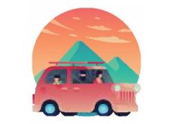 旅游车青山