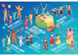 现代简约化妆舞会party3D模拟场景设计图