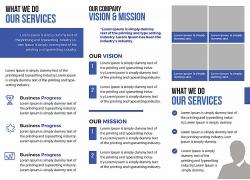 简约现代服务行业书籍画册宣传单页海报设计模板