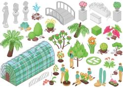 鲜花农场设计图