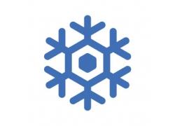 几何雪花图标