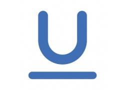 英文字母U图标