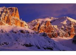 自然岩石大山风景摄影图片