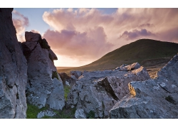 自然岩石峭壁风景摄影图片