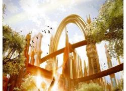 夢幻城堡世界場景圖