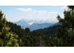 森林大山景觀風景風光照片