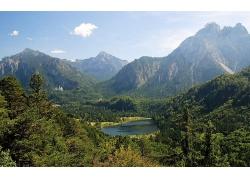 山川河流大自然風景風光攝影圖片
