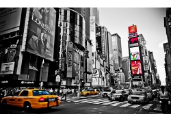 紐約市城市建筑馬路人行道風景風光景觀照片