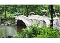 紐約市城市建筑公園大橋風景風光景觀照片