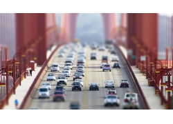 大桥桥面汽车公路风景风光景观照片