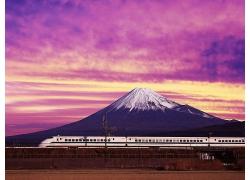 日本富士山風景圖片