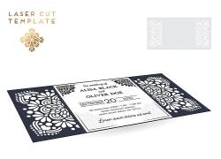橫圖創意邀請卡