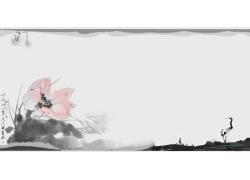 中式花朵中式壁画