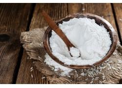 擀面杖小麦面粉揉粉天然美食食品白色粉末海报背景高清图片