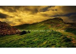 美麗優美青山大自然大山深山遠景海報背景景觀風景高清圖片
